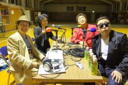 ラジオ収録風景